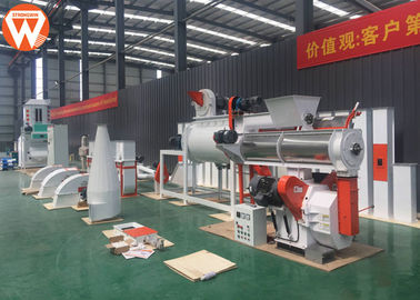 380V 50Hz Pellet Making Equipment , SZLH 250 1-2TPH Animal Feed Processing Plant