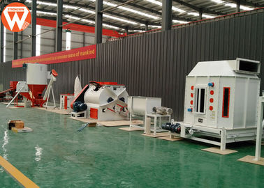 Manual Animal Feed Manufacturing Machines 5TPH SZLH 350 Animal Chicken With CE Approved