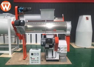 220v Animal Food Pellet Machine , 1-2T/H Broiler Bird Industrial Pellet Machine