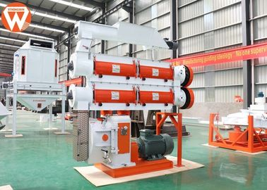 Two Layer Modulator Animal Feed Pellet Making Machine , Livestock Poultry Pellet Machine