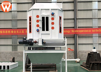 1.5 KW 10-15 T/H Feed Pellet Cooling Machine For Granule Materials 0.002MPa