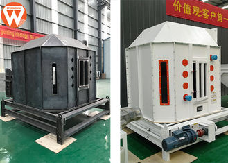 High Efficiency Feed Pellet Cooler Counter Flow For Cooling Granule Materials