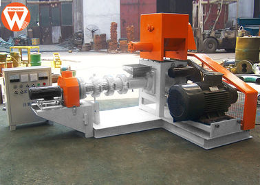 Screw Diameter 80MM Fish Feed Extruder Machine , Fish Feed Machine Manufacturing Machinery