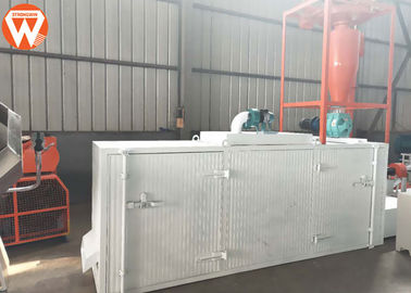 Shrimp Fish Feed Production Plant With Feed Crumble Machine 1-15 MM Pellet