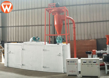 Stainless Steel Floating Feed Drying Machine Fast Speed 3200*1100*1550mm