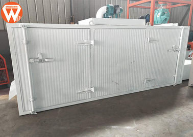 Stainless Steel Wire Mesh Fish Feed Drying Machine , Electric Motor Feed Pellet Dryer