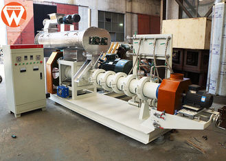 Boiler Fish Feed Processing Machine , Wet Type Floating Fish Feed Making Machine