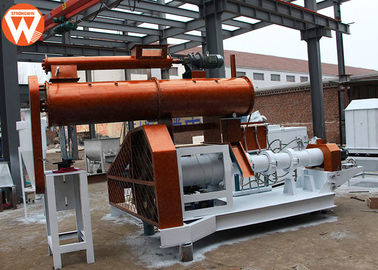 High Capacity Floating Fish Feed Plant 1.8T/H With 0.4-0.8MPa Steam Boiler