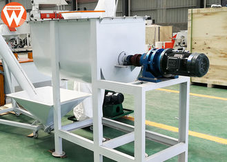 Carbon Steel 500 Kg/Batch Feed Mixer Machine 7.5 Kw Mixing Uniformity ≤ 7%