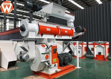 China Rabbit Mash Animal Feed Plant Machinery With Crumbler Machine Double Shaft Paddle Mixer supplier