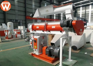China 150kw Pellet Production Equipment , Stable Performance Farm Industry Feed Pellet Plant supplier