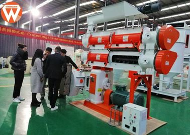 High Speed 5T / H Feed Pellet Making Machine / Production Plant In Stock