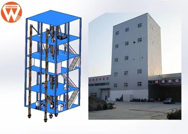 China 200kw Livestock Poultry Feed Production Line 10T/H Yield 0.9-10mm Pellet Size supplier