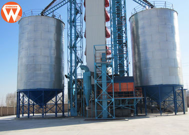 China Steel Grain Storage Silo / Poultry Feed Silo Feed Production Equipment supplier