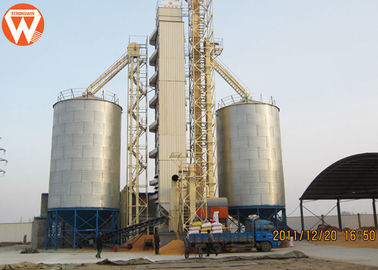 Galvanized Steel Auxiliary Equipment Poultry Farm Feed Grain Silo