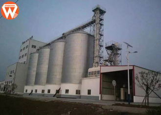 Pig Farm Auxiliary Equipment Steel Corn Silo For Feed Pellet Making Line