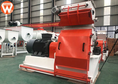 China 5.5t/H Capacity Animal Feed Grinder 37kw Power With Tungsten Carbide Hammer supplier