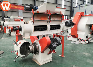 2 T/H Poultry Cattle Feed Pellet Making Machine 22kw Main Motor Power