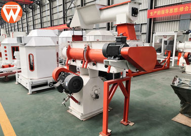 Poultry Livestock Feed Ring Die Feed Mill Machine 1.5 - 2.5t/H Capacity