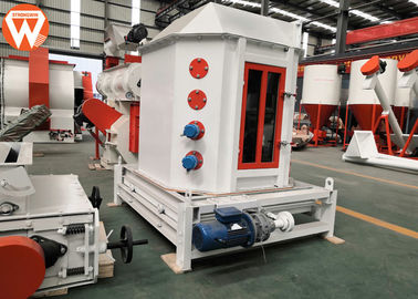 2T/H Counterflow Pellet Mill Cooler Machine For Animal / Aqua Farm Industry