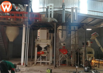 2-3T/H Chicken Production Line Poultry Feeding Equipment In Nigeria