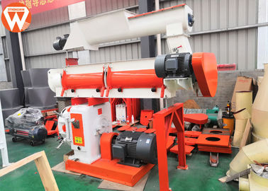 12mm Diameter Grain Grass 37kw Poultry Feed Pellet Machine