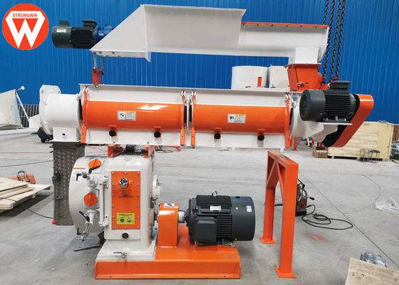 37KW Ring Die Livestock Chicken Feed Pellet Machine