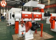 China 250mm Ring Die Animal Feed Pellet Machine With Siemens Motor And SKF Bearing company