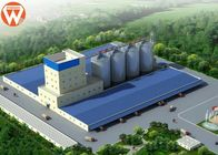 China Capacity 20T/H Animal Feed Production Line With Raw Materials Silo company