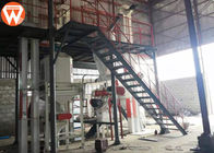 Large Scale Poultry Feed Manufacturing Equipment Complete Production Line