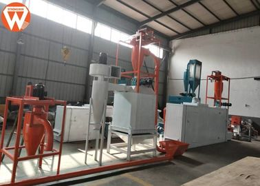 China 350KG / H Floating And Sinking Fish Feed Production Line For Aquaculture factory