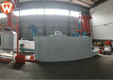China 300KG / H Fish Feed Production Line , Fish Feed Pellet Machine High Speed factory