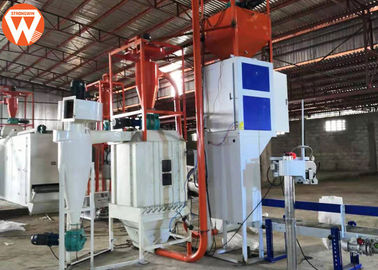 China 0.5 - 0.6t/H Capacity Fish Feed Production Line 55kw With Dryer Machine factory
