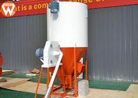 2 In 1 Vertical Feed Grinder Mixer , Chicken Feed Powder Premix